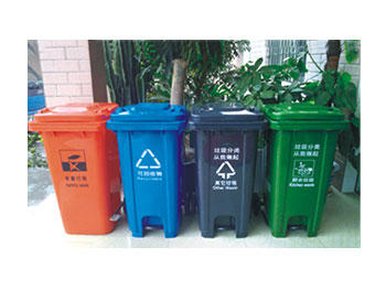 市政脚踏分类垃圾桶