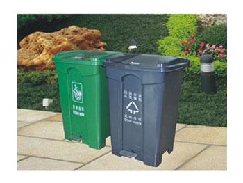 45L脚踏分类垃圾桶