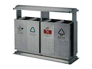 机场四分类垃圾桶