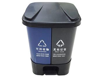 室内脚踏分类垃圾桶