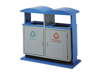 分类环保钢制垃圾箱