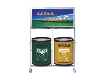 环保广告垃圾桶
