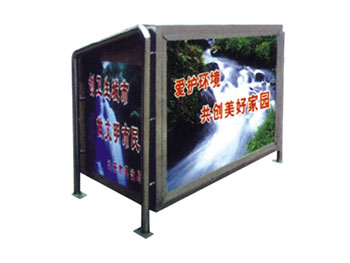 不锈钢广告箱