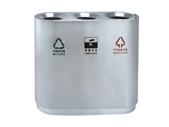 宝安机场三分类垃圾桶