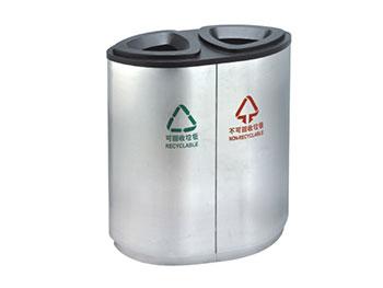 宝安机场不锈钢垃圾桶