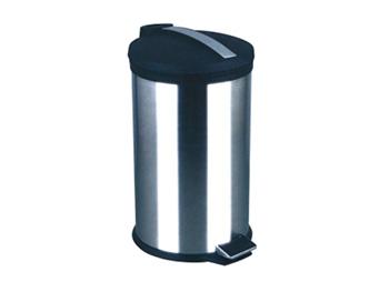 塑胶平盖脚踏垃圾桶