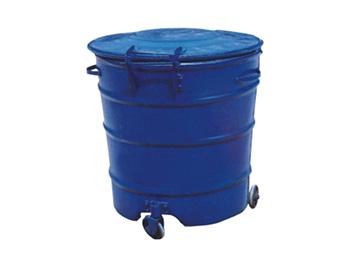 钢板环卫垃圾桶带盖