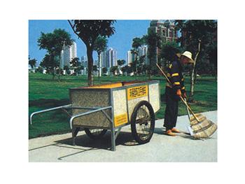 拖挂环卫垃圾车