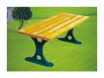 铸铁园林椅