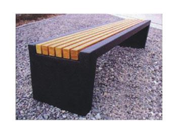 钢木休闲凳