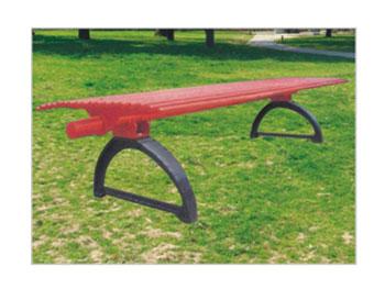 钢制园林椅
