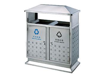 园林分类不锈钢垃圾桶