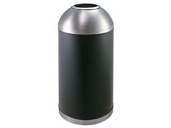 球口室内铁板喷塑垃圾桶