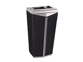 商务铁板喷塑垃圾桶
