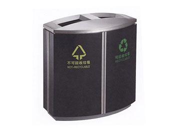 商务分类铁板喷塑垃圾桶