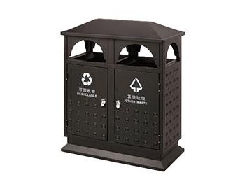 别墅区户外钢制垃圾桶