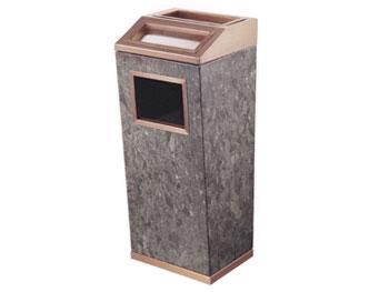 座地钛金垃圾桶