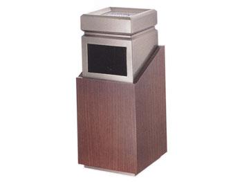 拼接座地钛金垃圾桶
