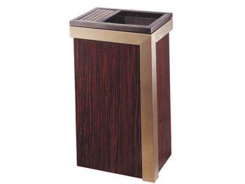 立体钛金垃圾桶